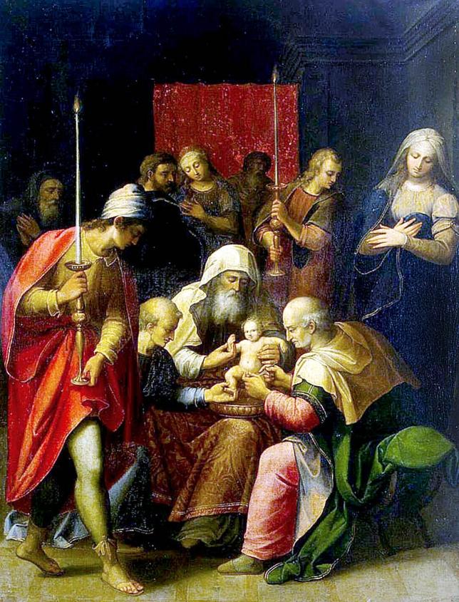 La circuncisión, de Luis de Carvajal (Hermitage).