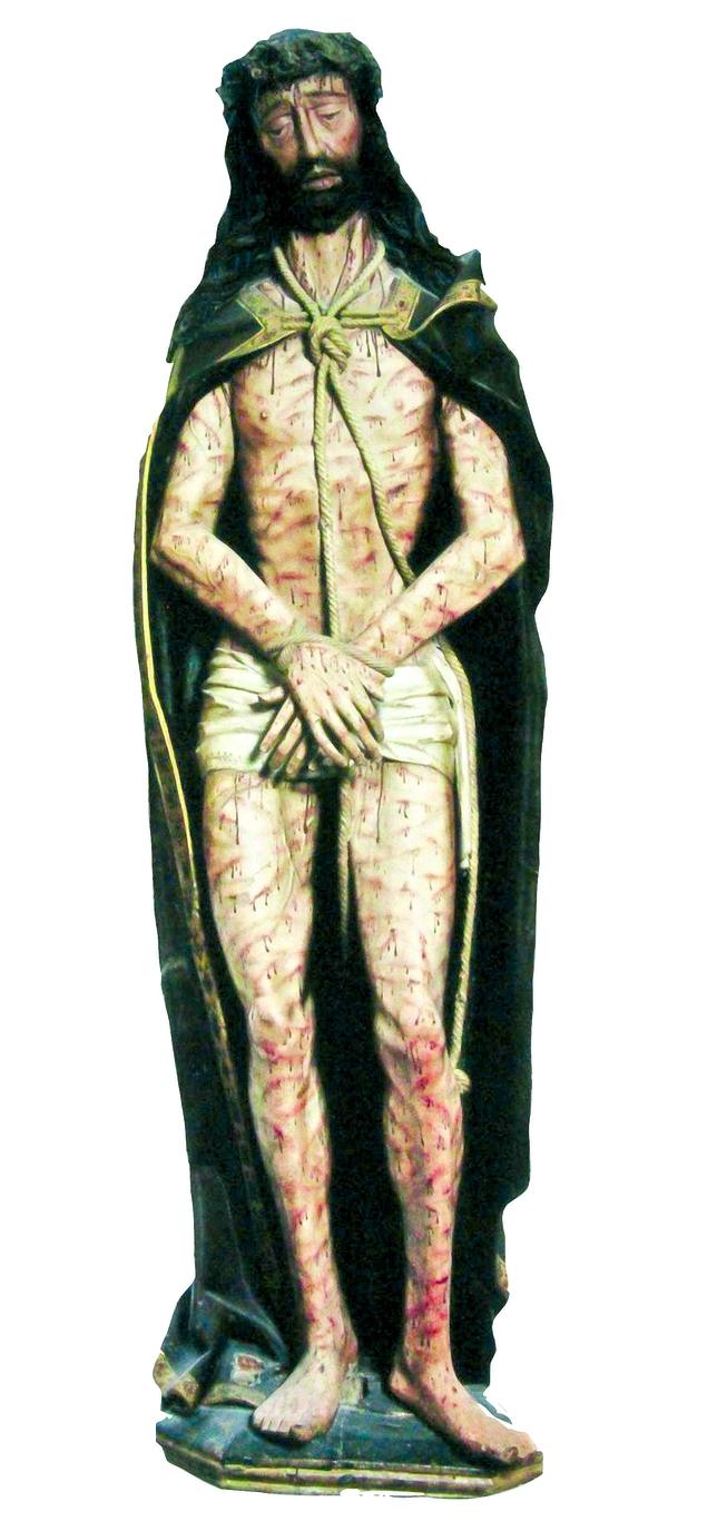 Ecce Homo de Gil de Siloé del siglo XV