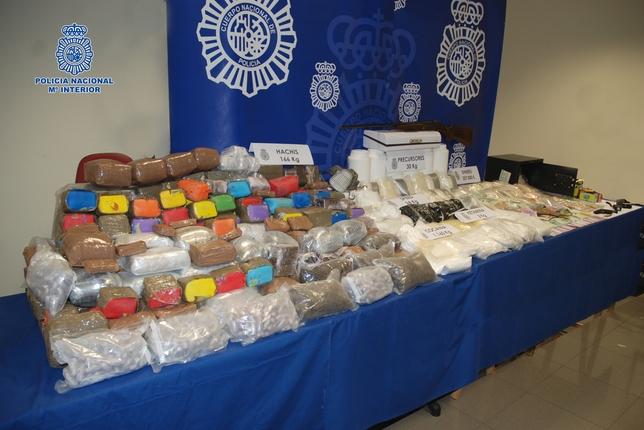 La Policía interviene casi 200 kilos de droga en la Operación Yogur