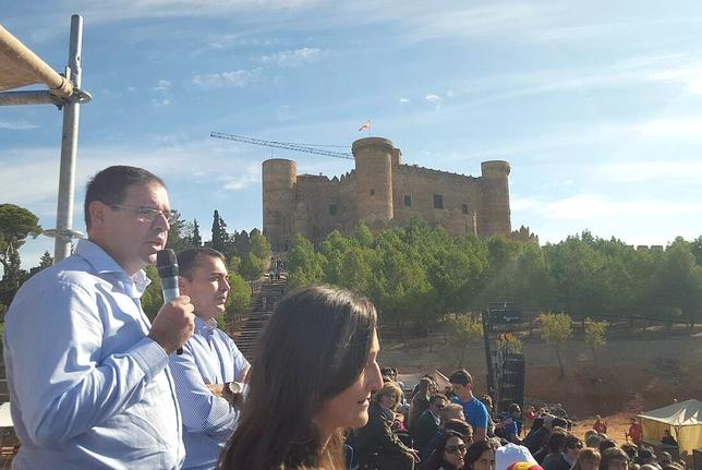 Benjamín Prieto, ayer en la inauguración. Diputación