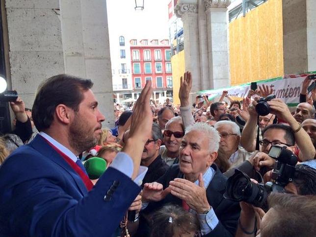 Sesión de investidura del nuevo alcalde de Valladolid