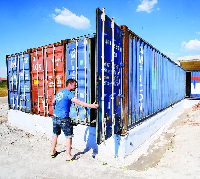 La casa de sus sue os con contenedores de barco el d a de valladolid - Contenedores de barco ...