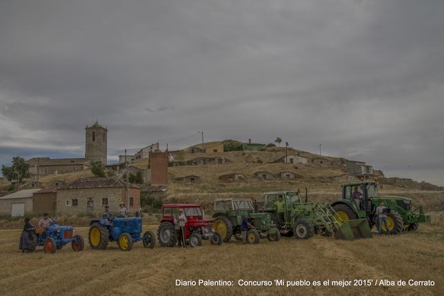 Alba de Cerrato: El antes y el después. Foto: Alberto Mélida Infante.