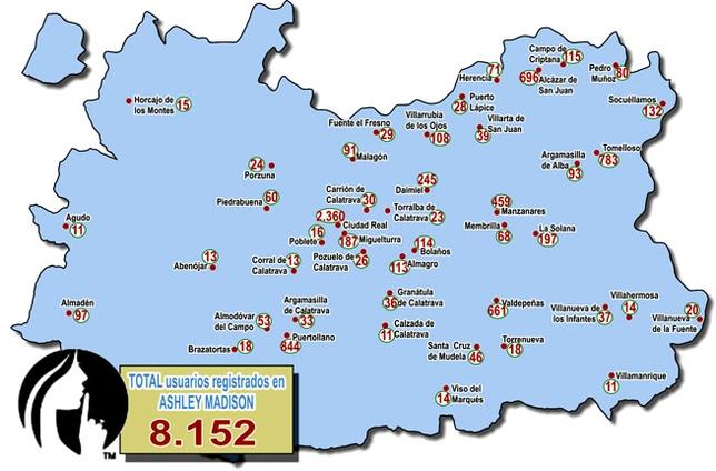 Los datos de infieles de la provincia se filtran en - Plano de ciudad real ...