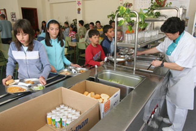 Los comedores escolares albacetenses est n entre los m s for Empresas comedores escolares