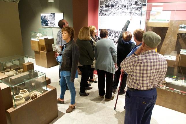Muchas personas visitaron el museo durante esta jornada. Fernando Chinarro Fuentes