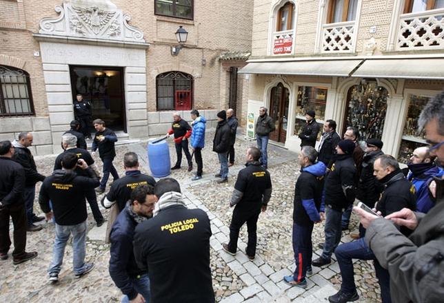 Los policías locales se concentrarán todos los miércoles frente al Ayuntamiento David Pérez