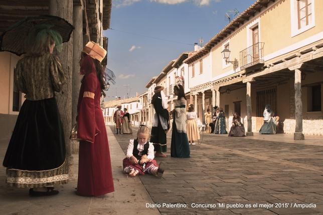 """AMPUDIA: Ampudia, un pueblo en el que sus vecinos recuerdan la belleza del siglo XVII"""". Foto: Víctor Aguilar del Bosque"""