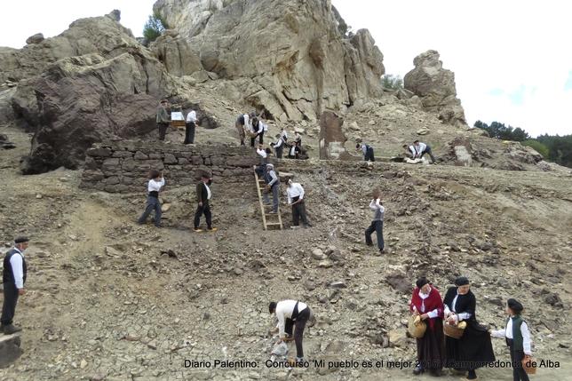 CAMPORREDONDO DE ALBA: 100 años después Camporredondo conmemora los inicios de la construcción del entonces llamado pantano Príncipe Alfonso. FOTO: VERÓNICA FERNÁNDEZ