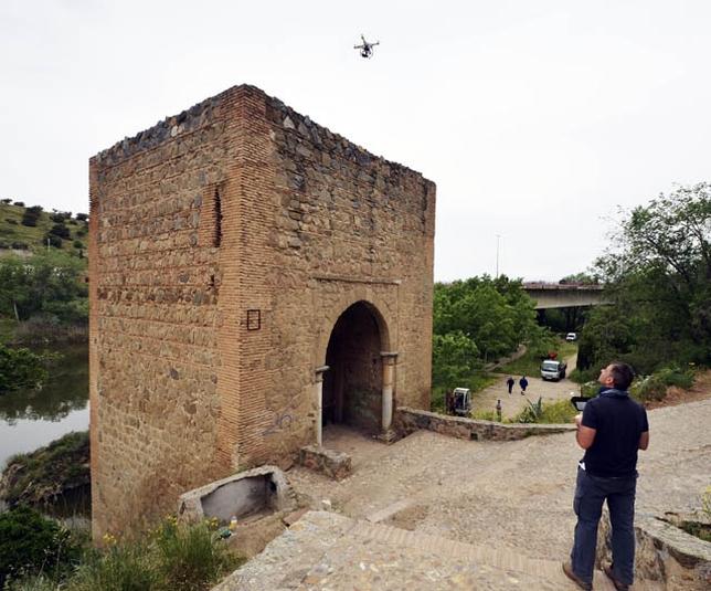 Drones e infografía 3D en arqueología