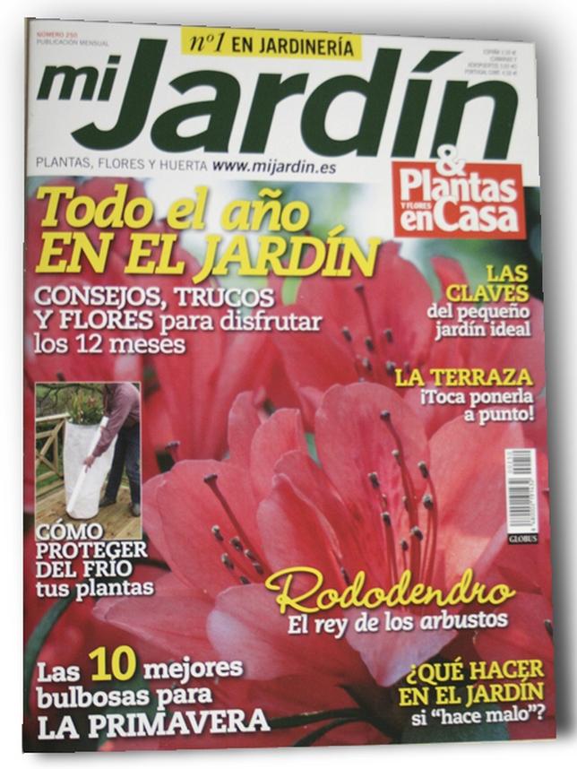 Flores durante todo el a o en el jard n diario de vila for Casa y jardin revista pdf
