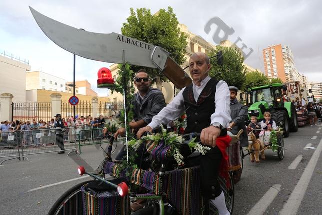 Cabalgata de apertura de la Feria 2015