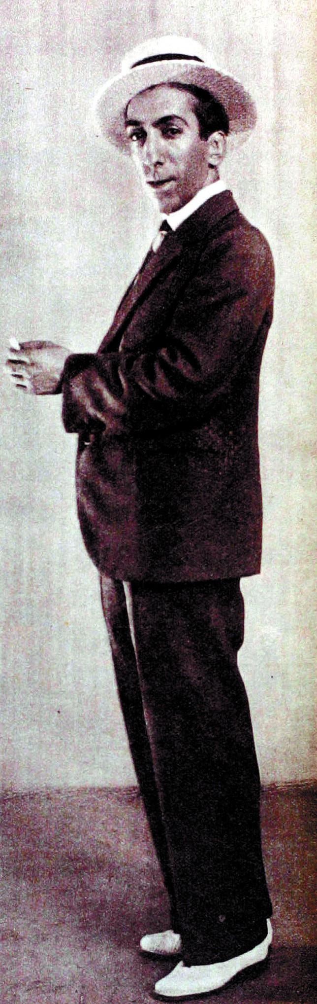 Resultado de imagen de retrato del bailaor Juan Martínez