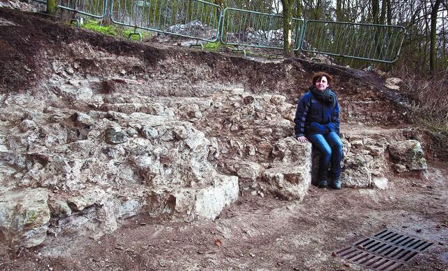 Hallazgo arqueológico Ángel Ayala