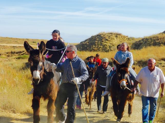 MONZÓN DE CAMPOS. Travesía entre Monzón y Villajimena en transporte ecológico