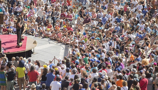 Cuarta edición del Festival Internacional de Circo de Castilla y León.