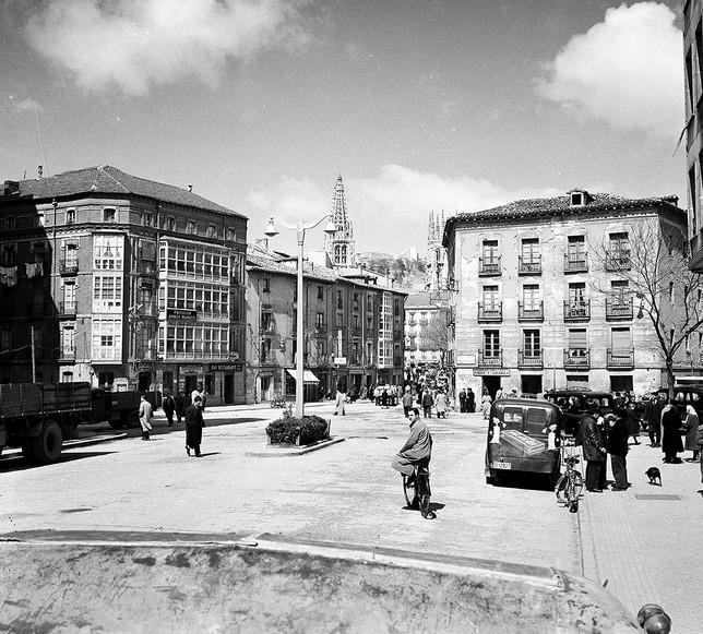 fuera de blanco desprotegido en Burgos