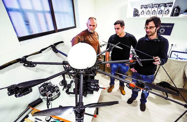 Synergy Drone Luis López Araico