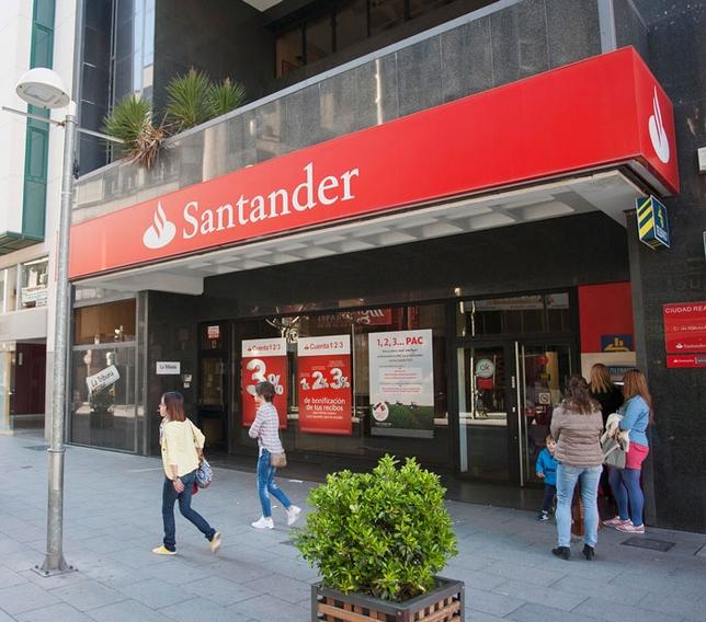 150 empleados y 31 sucursales pendientes del ere del for Oficinas banco de santander