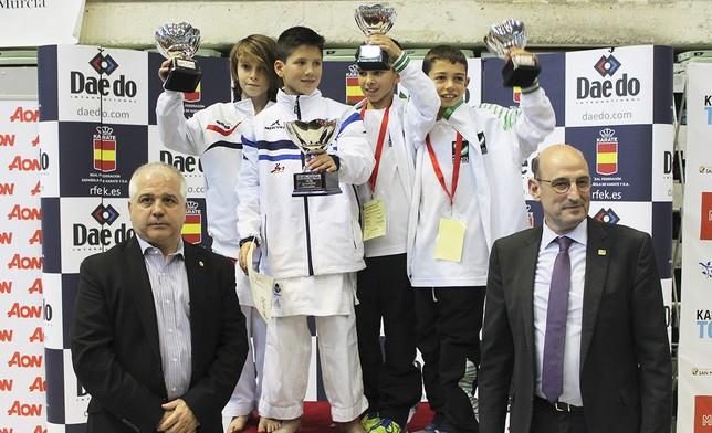 Castilla-La Mancha segunda en el medallero del Campeonato de España Infantil de Karate