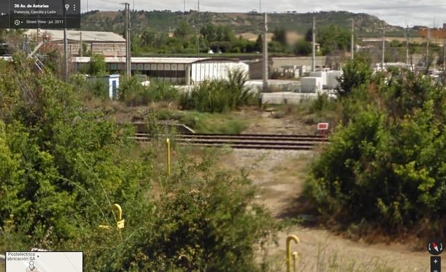 Imagen de la zona en junio de 2011.