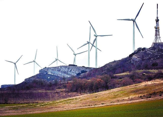 Burgos, con 1.840 MW de potencia instalada, es uno de los principales productores de energía eólica de España. Luis López Araico