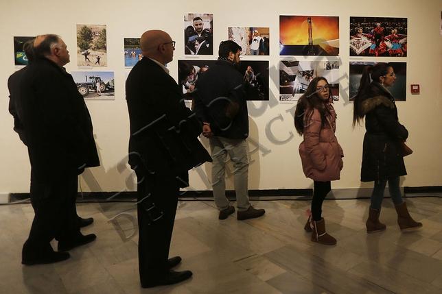 El Museo Municipal acoge la tercera edición de una muestra de más de 200 imágenes de los redactores gráficos del diario, Arturo Pérez, Rubén Serrallé y José Miguel Esparcia