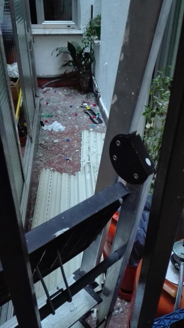 Explosión por gas en Ávila