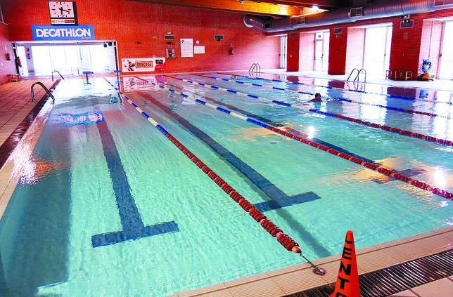 Suben los abonados a las piscinas climatizadas un 19 for Temperatura piscina climatizada