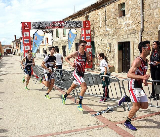 La localidad de Pedrosa del Príncipe acogió el Campeonato Regional en 2015. DB