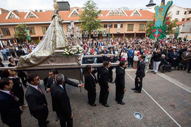 Procesión de la Virgen del Montge de Bolaños /Fotos Rueda Villaverde