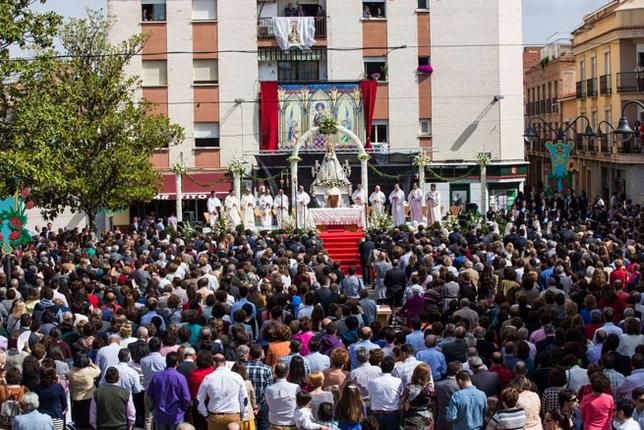Cospedal asiste al 50 Aniversario de la Coronación de la Virgen del Monte de Bolaños /Fotos Rueda Villaverde