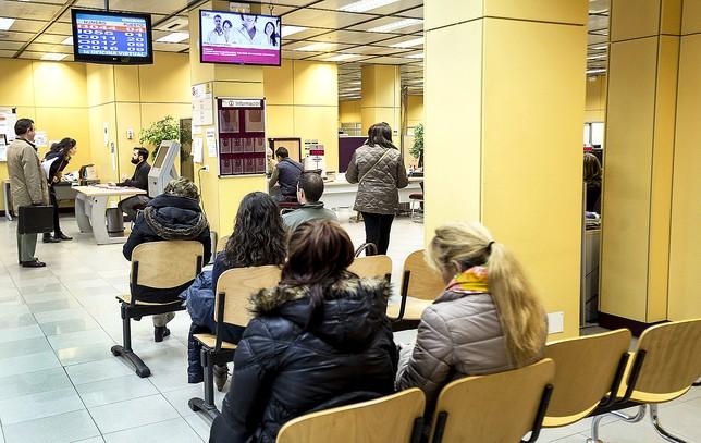 La plantilla de las oficinas de empleo pide seguridad para for Oficina de empleo mas cercana