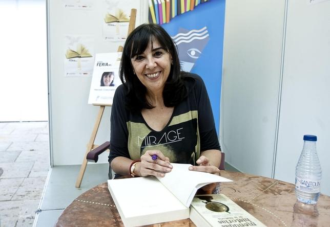 Nieves Concostrina, periodista y escritora. Patricia