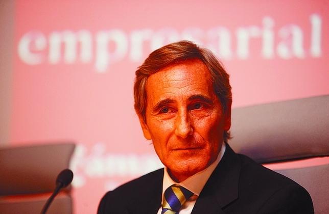 Julio Linares, vicepresidente de Telefónica. Luis López Araico