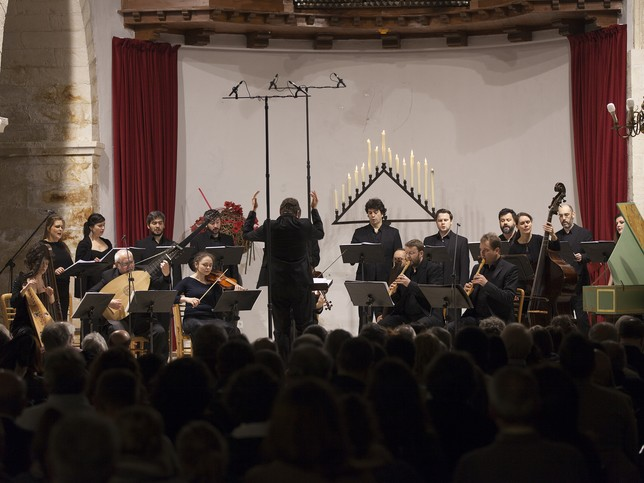 La Grande Chapelle dirigida por Albert Recasens. Santiago Torralba
