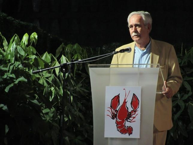 Pérez Henares pregona en Herrera Marta Redondo
