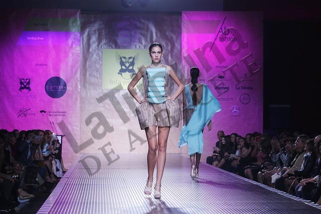 Imagen del desfile de diseñadores emergentes de Ab Fashion Day. / José Miguel Esparcia