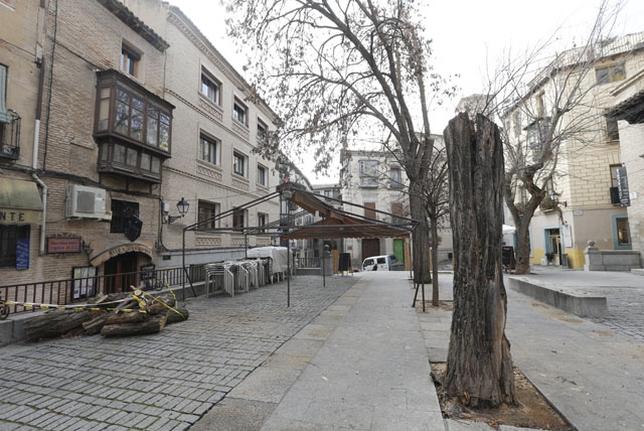Resultado de imagen de Plaza de Amador de los Rios toledo