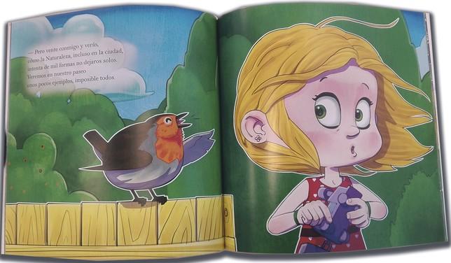 Páginas centrales del libro editado por Tundra