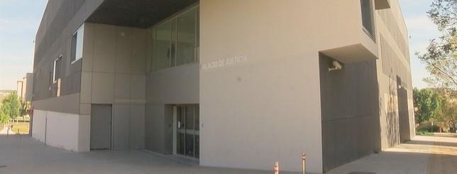 Sede de los juzgados en Tudela Natv