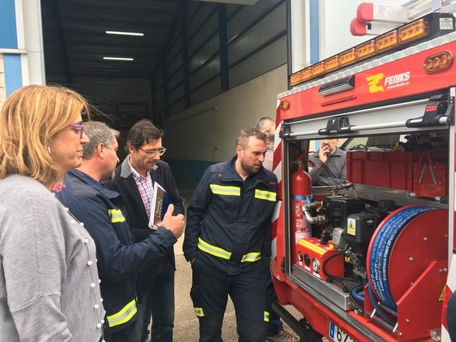 1 vehículo nuevo para los bomberos de Cervera