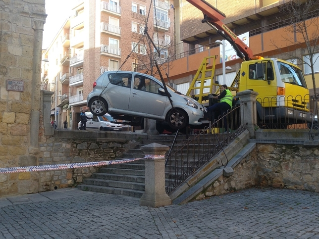 Santa Eulalia: aparatoso accidente