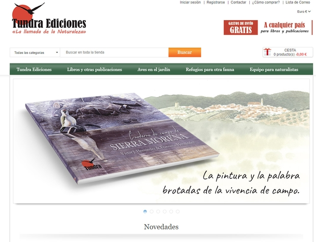 También puede adquirirse el libro a través de la web de Tundra