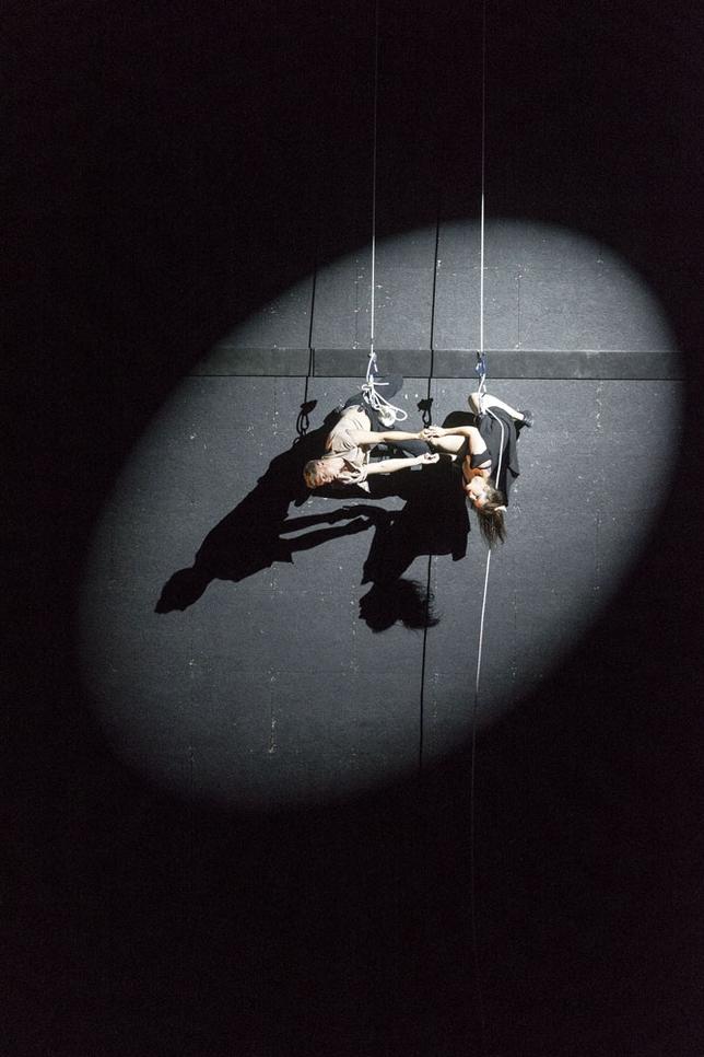 La danza vertical deja preciosas imágenes dentro del Certamen de Coreografía Burgos Nueva York