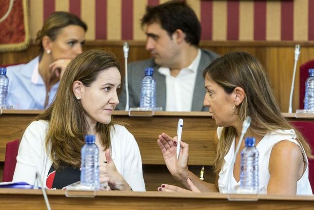 Último pleno antes de vacaciones donde se escenificó el cambio de portavocía en el Ayuntamiento de Burgos