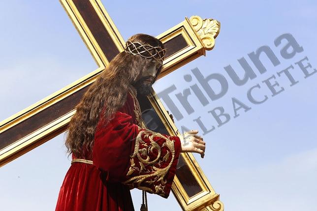 La Proceción del Calvario de Tobarra y bendición de Nuestro Padre Jesús Nazareno