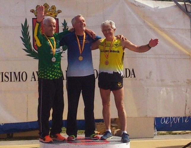 Tres medallas en Elda