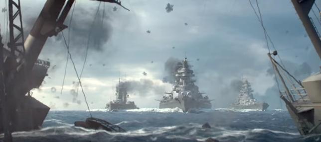 Una de las escenas recreadas en el juego