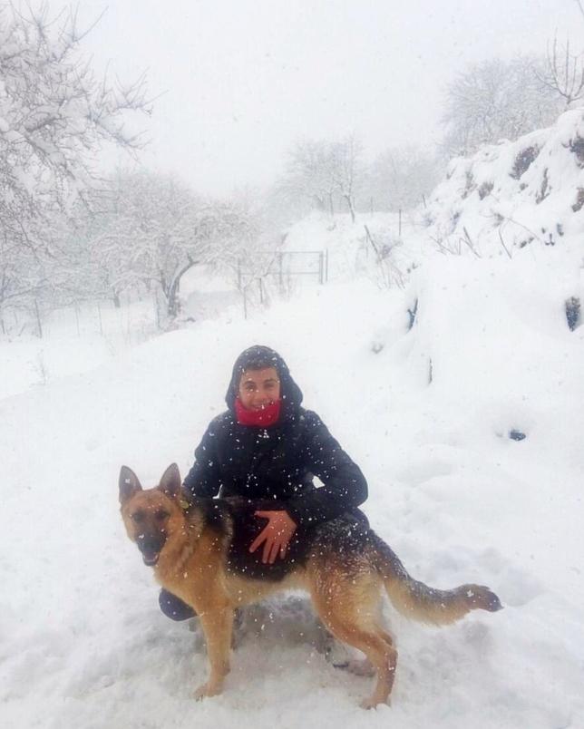 La gente disfrutó con la nieve en Nerpio